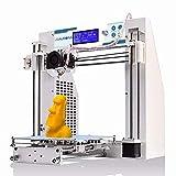 JGAURORA Desktop DIY 3D Drucker Selbstmontage Metall Rahmen Prusa i3 Kit ABS PLA Filament 1.75mm