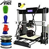 Anet A8 3D Drucker, Prusa I3 3D Printer DIY, 3D-Drucker Kit, Upgradest High Precision Selbstbauen 3D...