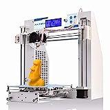 JG AURORA 3D Drucker, FDM Desktop 3D Drucker 200 * 200 * 180 mm Druckgröße, Metallrahmen...