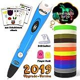 dikale 3D Stifte mit PLA Filament 12 Farben 07A 3D Stift für Kinder mit PLA Farben und 250...