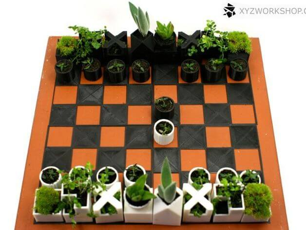 3d-modell schach chess 3d model