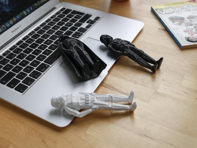 3d-gedruckte star wars figuren flowalistik 3d printed figurines