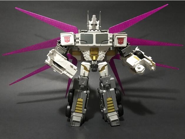 3d-modell transformers optimus prime 3d model