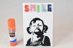 3d-modell banksy smile 3d model